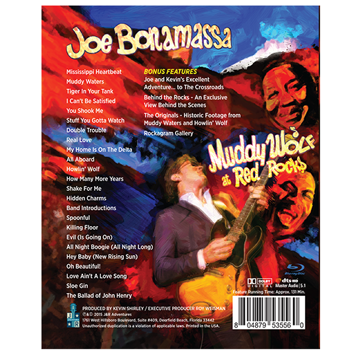Joe Bonamassa: Muddy Wolf at Red Rocks Bluray