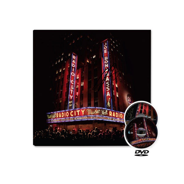 Live at Radio City Music Hall (CD/DVD) (Released: 2015) - Hand-Signed