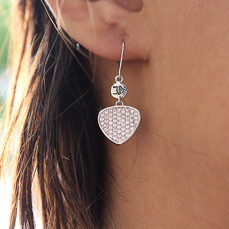 Bona-Fide Guitar Pick Earrings