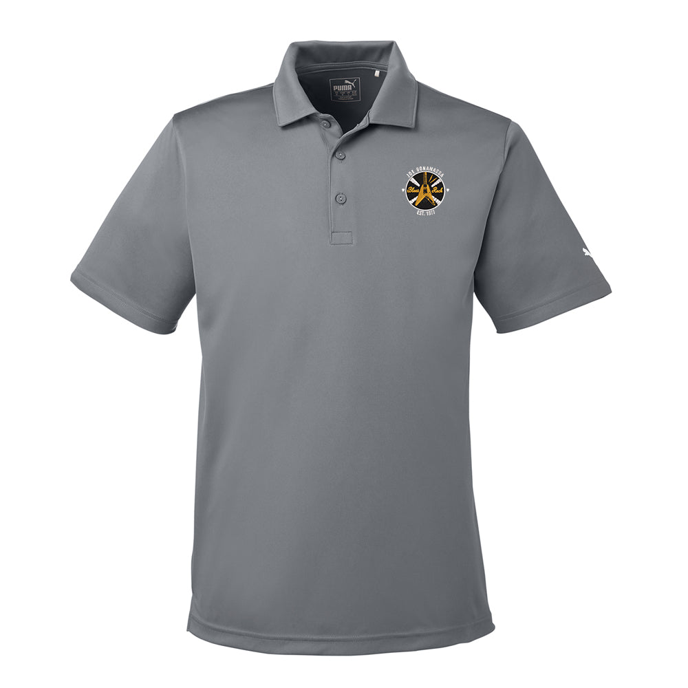 Electric Flying V Puma Golf Icon Polo (Men) - Shade