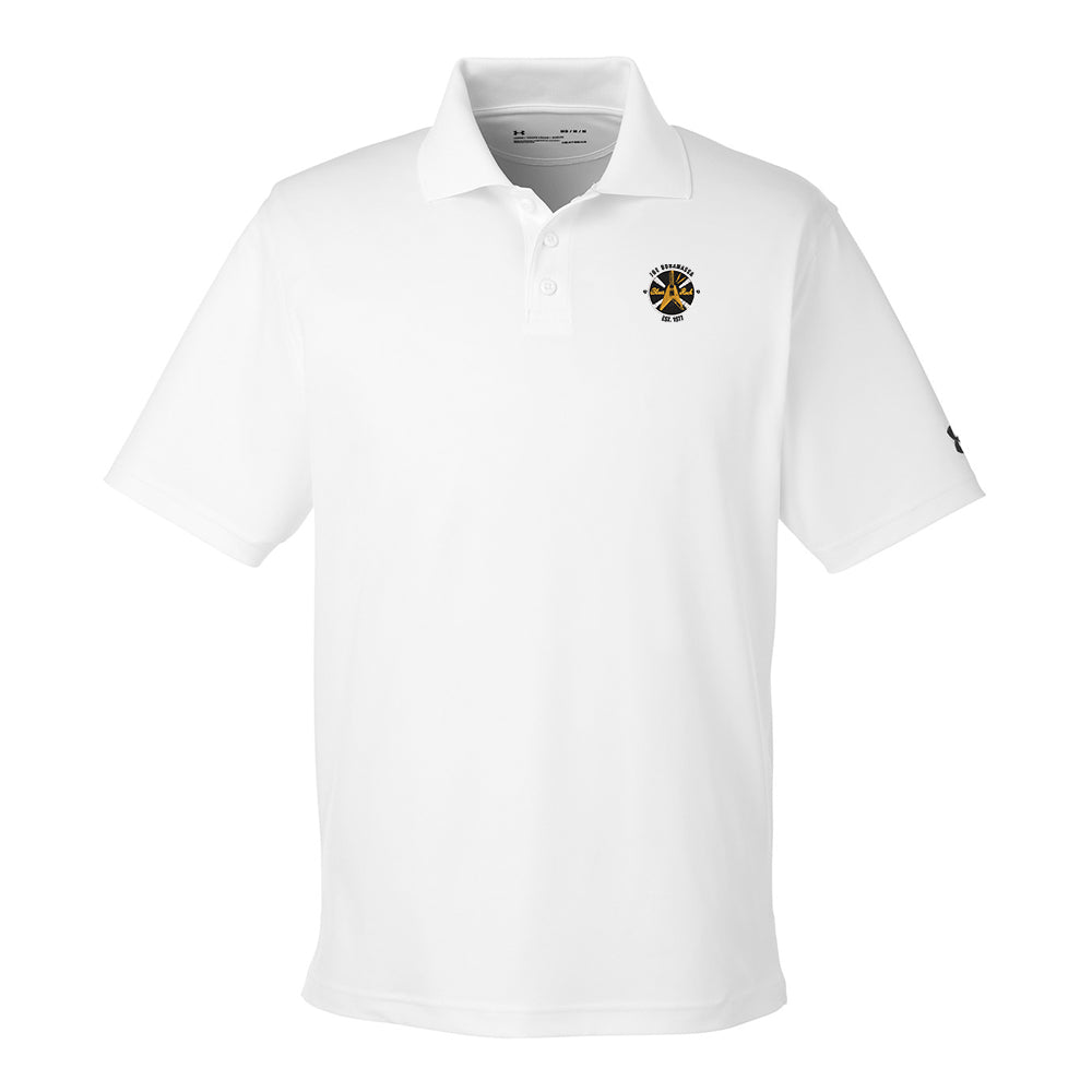 Electric Flying V Under Armour Performance Polo (Men) - White