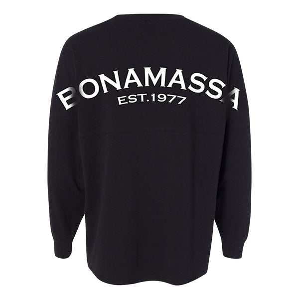 Bonamassa EST 1977 Collegiate Long Sleeve (Unisex) - Black