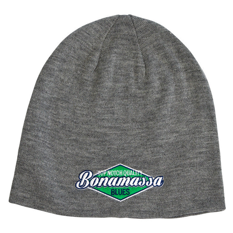 4f0723f03da JB Top Notch Slouch Beanie - Light Grey Heather – Joe Bonamassa ...
