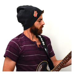 Blues Rock Lives On Beanie - Charcoal Grey