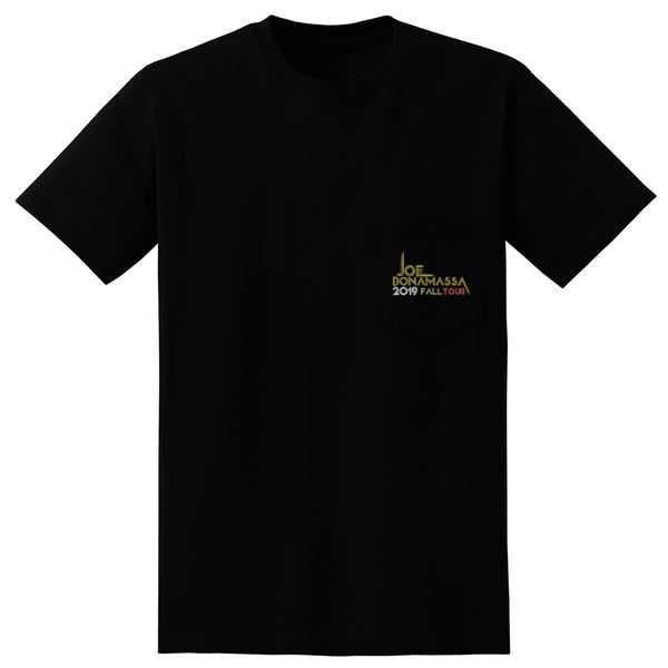 2019 Fall Tour Pocket T-Shirt (Unisex) - Portrait