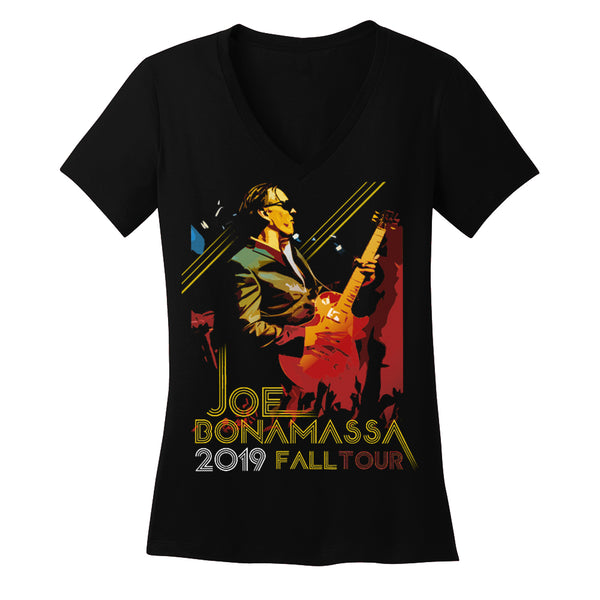2019 Fall Tour V-Neck  (Women) - Portrait