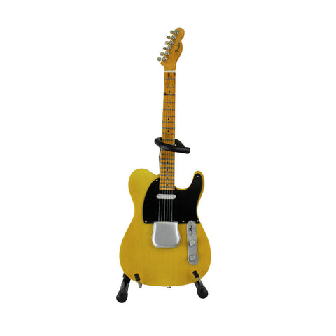 "Joe Bonamassa Signature ""1950 Fender Broadcaster"" Mini Guitar Replica Collectible"