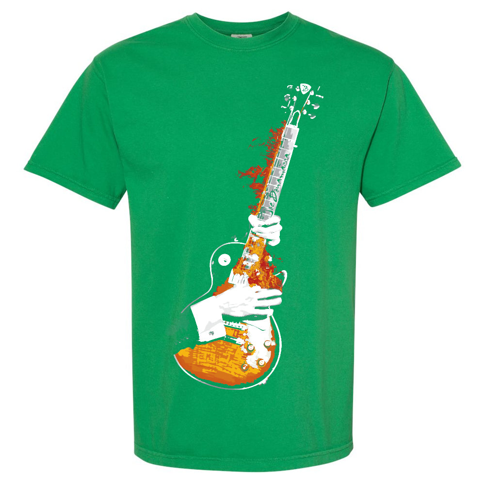 Blues On Fire Comfort Colors T-Shirt (Unisex) - Clover