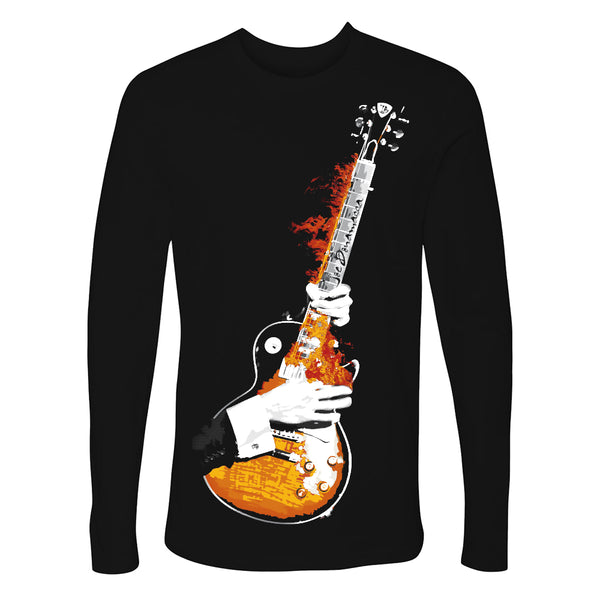 Blues on Fire Long Sleeve (Men)