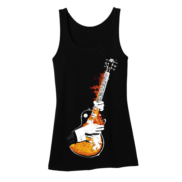 Blues on Fire Tank (Women)