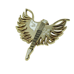 Firebird Pin - Gold
