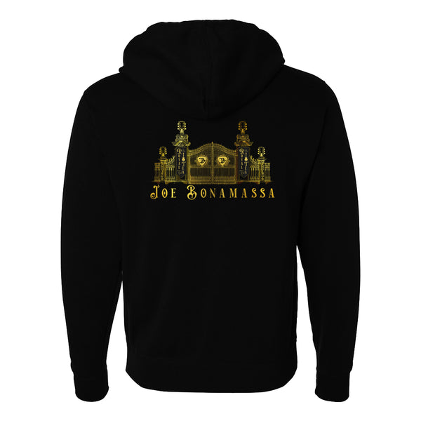 Royal Tea Gate Zip-Up Hoodie (Unisex)