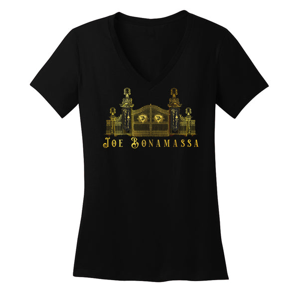 Royal Tea Gate V-Neck T-Shirt (Women)