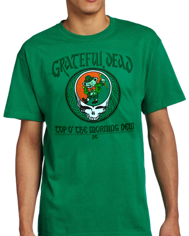 Grateful Dead - Top O' The Morning Dew T-Shirt (Men)