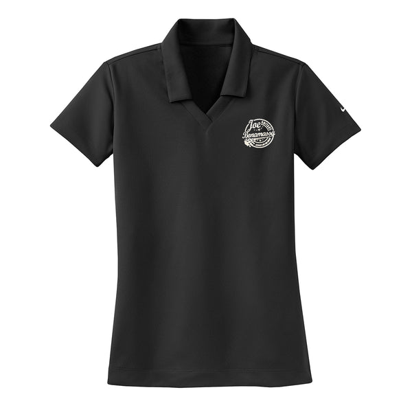 Genuine Nike Dri-FIT Micro Pique Polo (Women) - Black