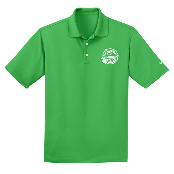 Genuine Nike Dri-FIT Micro Pique Polo (Men) - Lucky Green