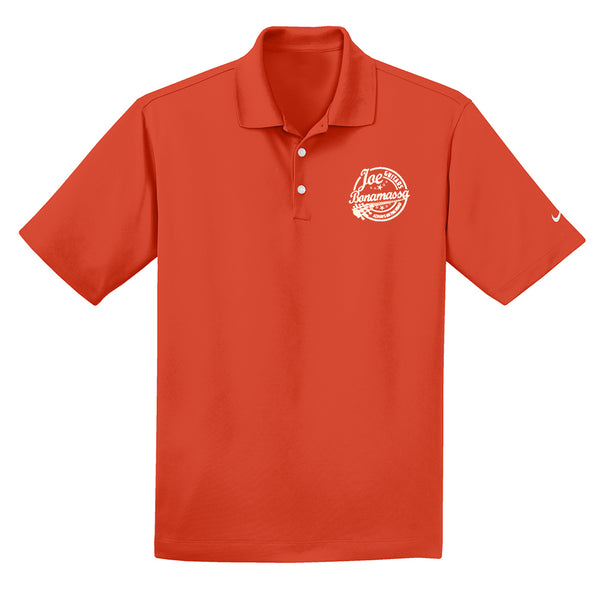 Genuine Nike Dri-FIT Micro Pique Polo (Men) - Team Orange