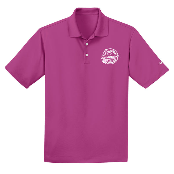 Genuine Nike Dri-FIT Micro Pique Polo (Men) - Fusion Pink