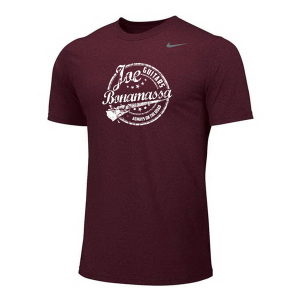 Genuine Blues Nike Dri-FIT Legend T-Shirt (Men) - Deep Maroon
