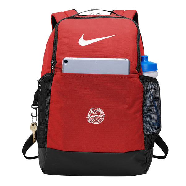 Genuine Blues Nike Brasilia Backpack - Red