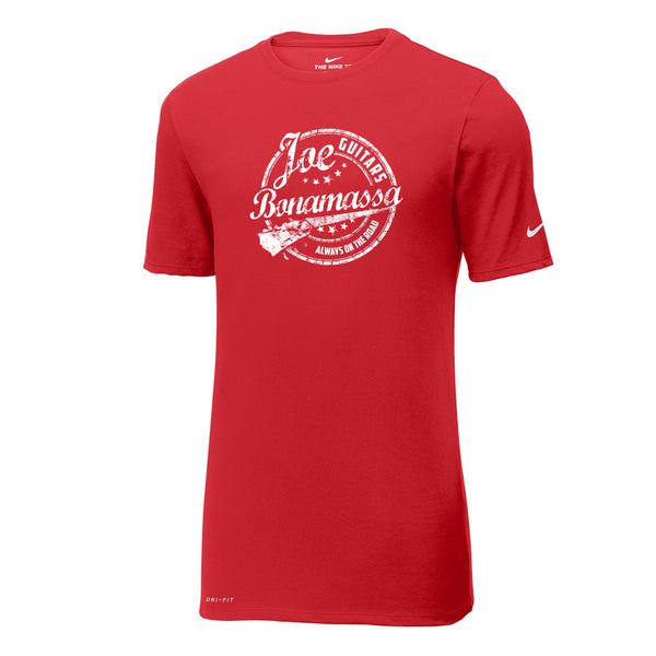 Genuine Blues Nike Dri-FIT T-Shirt (Men) - Gym Red