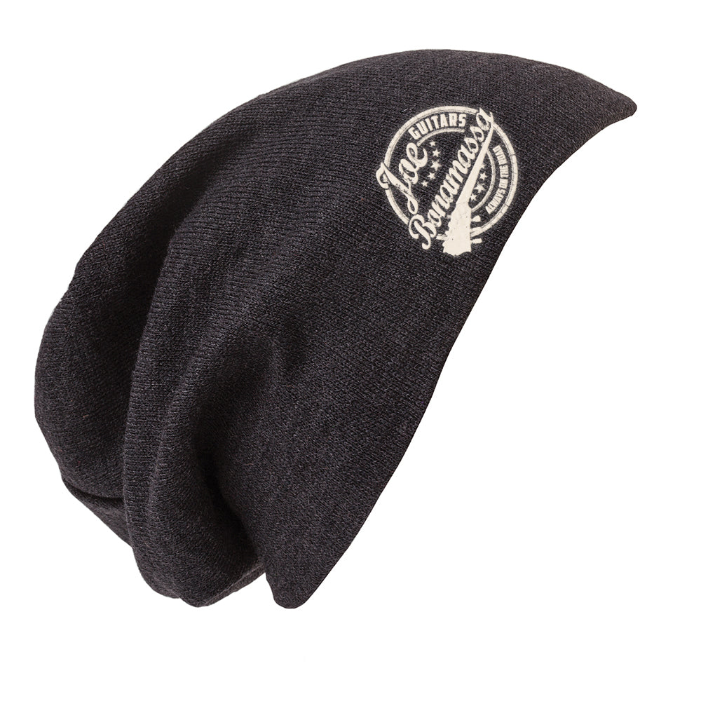 a332d961575 Genuine Slouch Beanie - Charcoal Heather – Joe Bonamassa Official Store