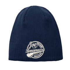 Genuine New Era Knit Beanie - Navy
