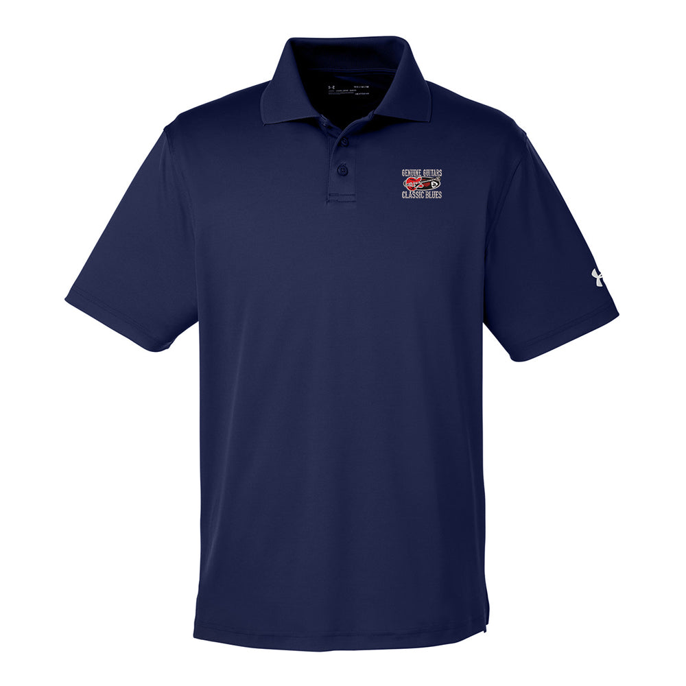 Genuine Guitars & Classic Blues Under Armour Performance Polo (Men) - Navy