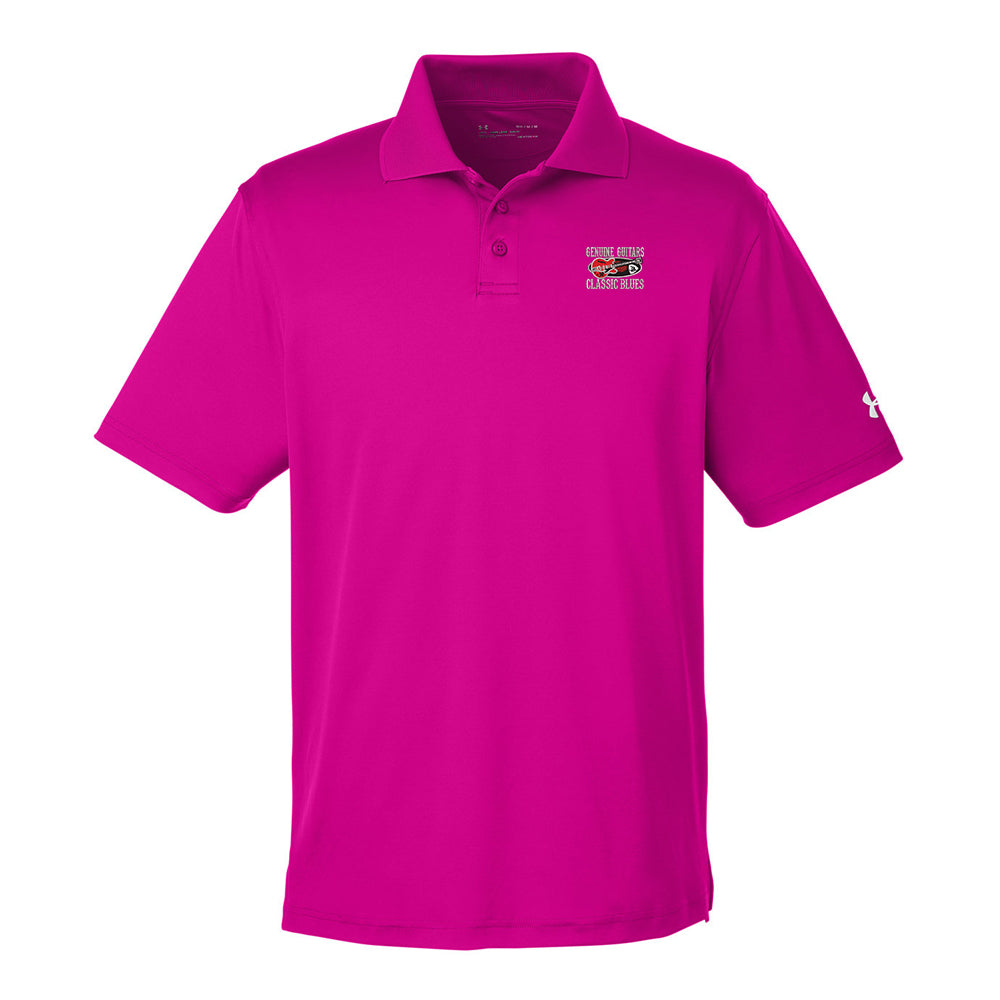 Genuine Guitars & Classic Blues Under Armour Performance Polo (Men) - Pink