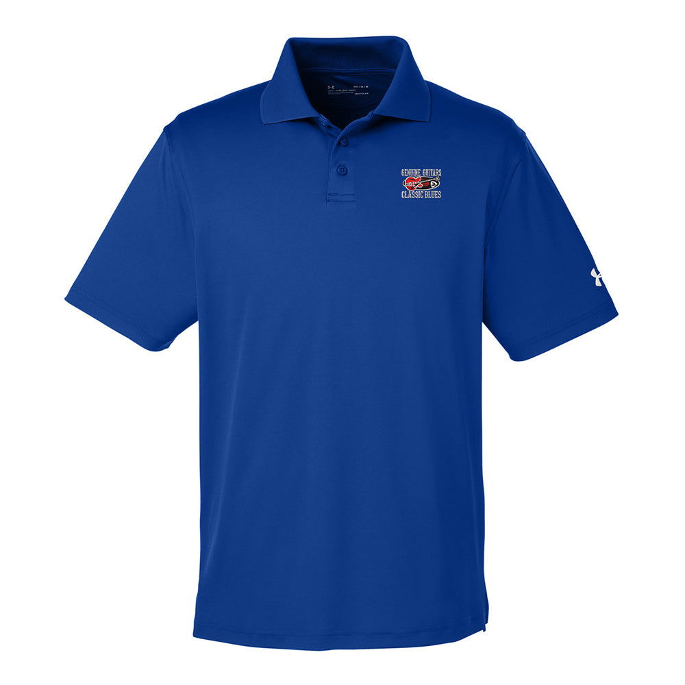 Genuine Guitars & Classic Blues Under Armour Performance Polo (Men) - Royal
