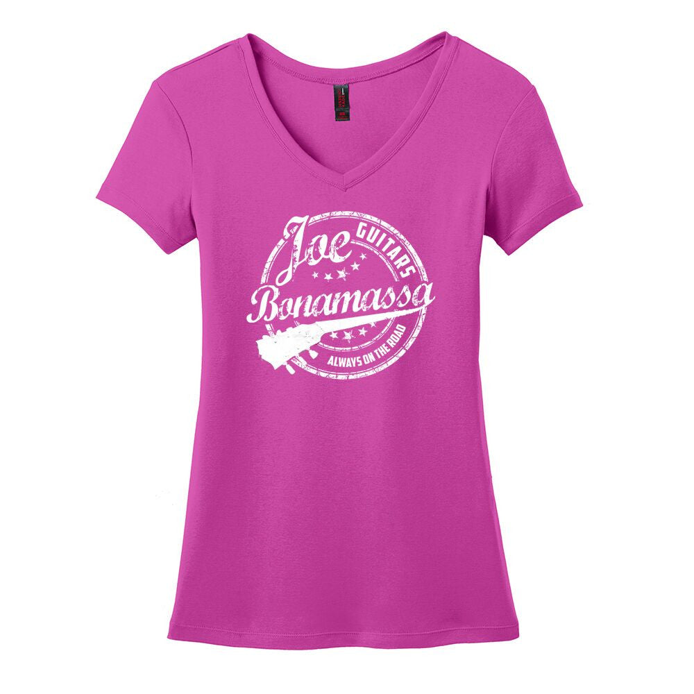 Genuine V-Neck (Women) - Pink Raspberry
