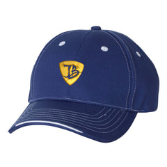 "JB Pick ""Puff"" Tri-Color Hat - Royal"