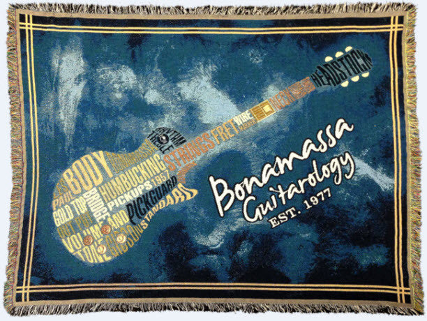 2014 Collectible Bonamassa Guitarology Blanket