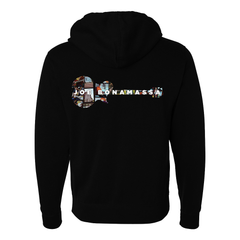 A New Day Now Guitar Collage Hoodie Zip-Up Hoodie (Unisex)