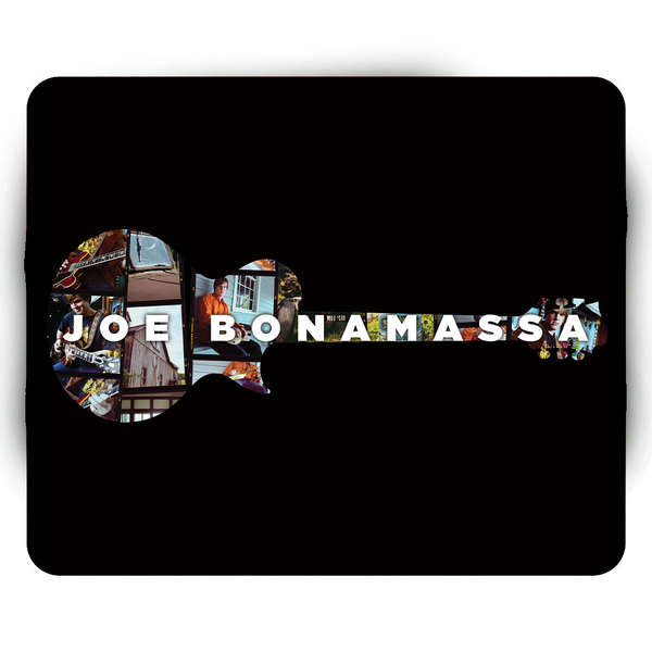 A New Day Now Guitar Collage Mouse Pad