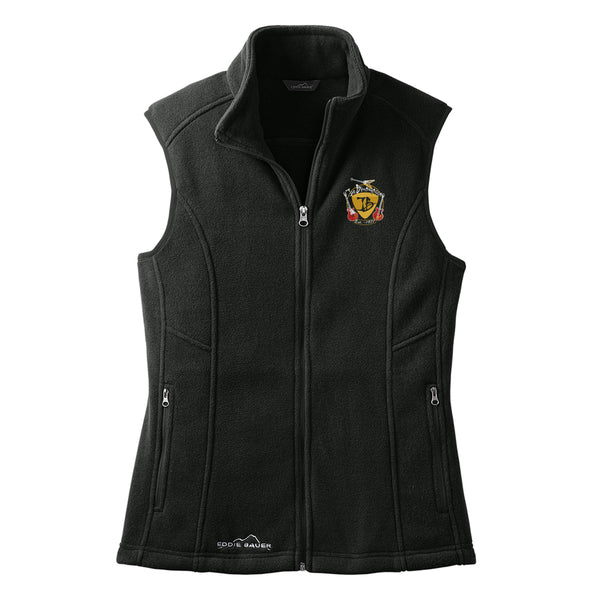 Guitar Trifecta Eddie Bauer Fleece Vest (Women) - Black
