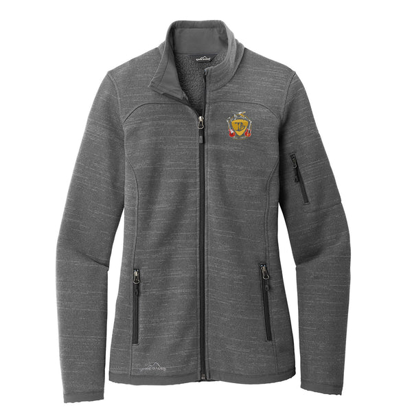 Guitar Trifecta Eddie Bauer Sweater Fleece Full-Zip (Women) - Grey