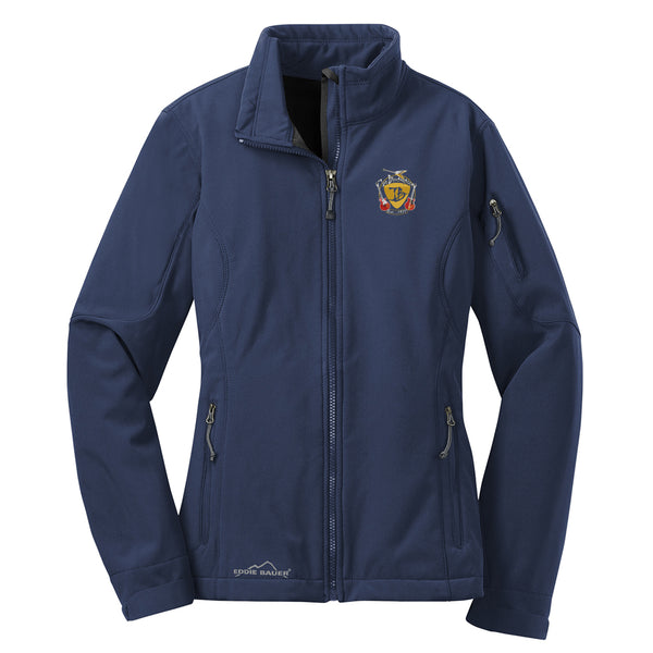 Guitar Trifecta Eddie Bauer Soft Shell Jacket (Women) - Navy