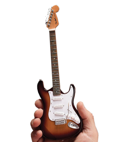 Axe Heaven Miniature Classic Sunburst Fender™ Strat™ Guitar Replica
