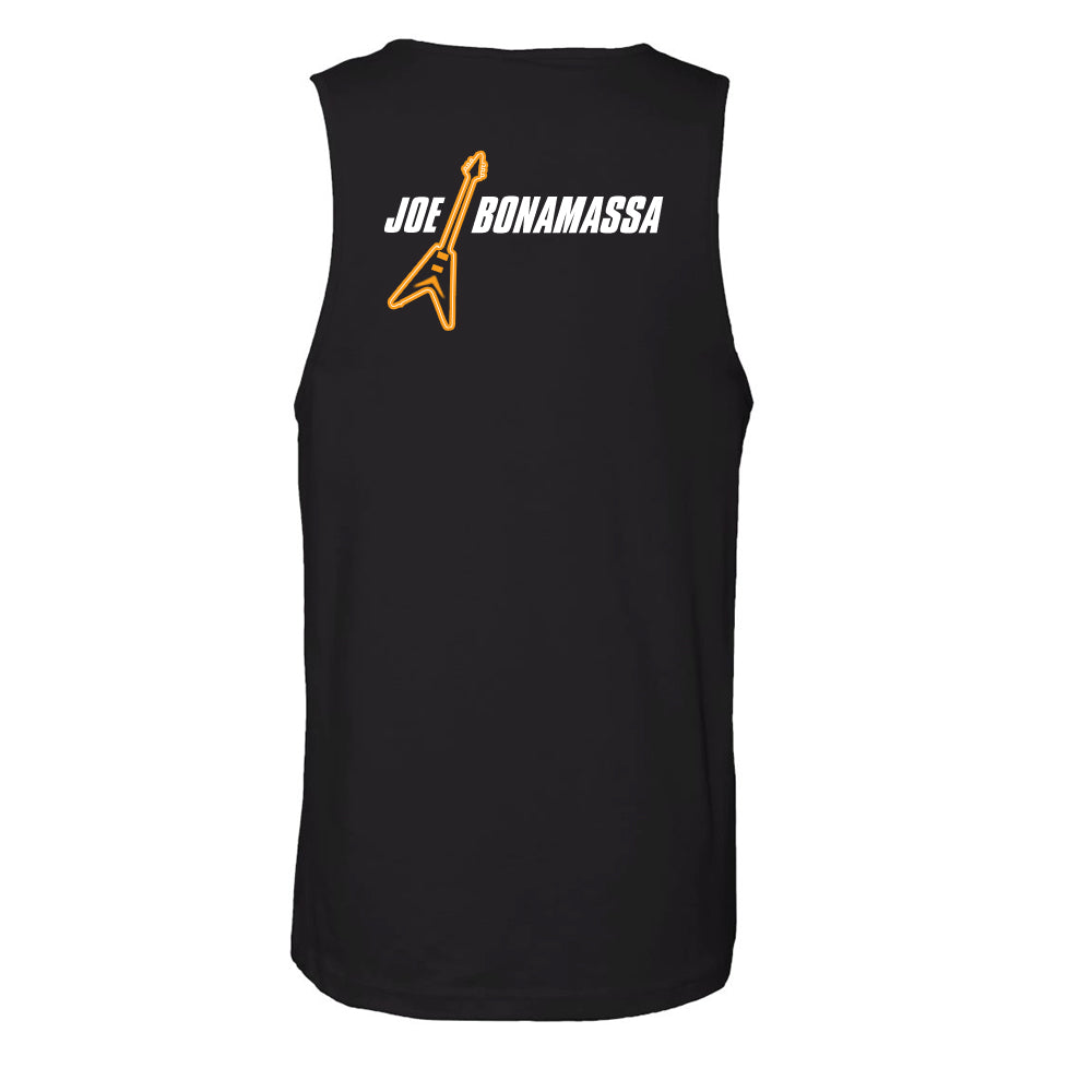 Guitar Man Logo Tank (Unisex) - Black