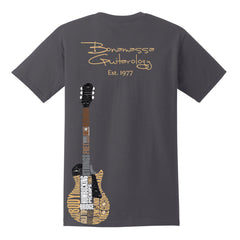 Guitarology Pocket T-Shirt (Unisex) - Charcoal