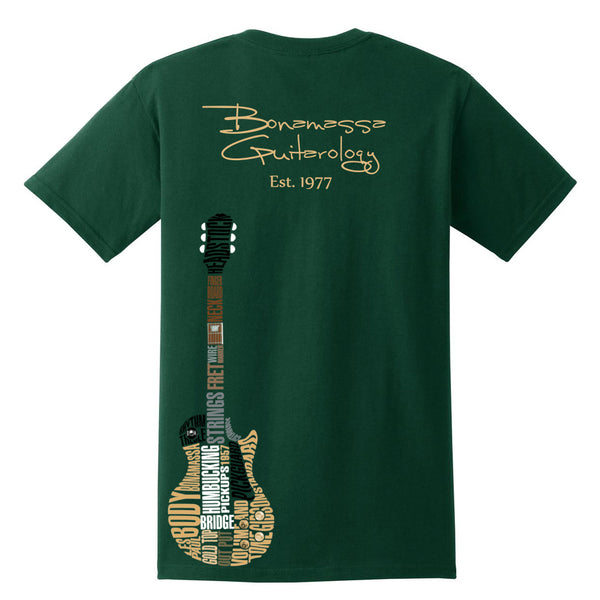 Guitarology Pocket T-Shirt (Unisex) - Forest