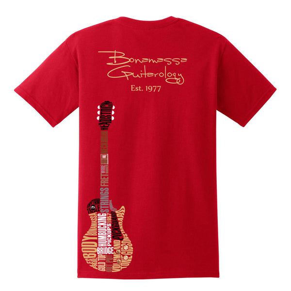 Guitarology Pocket T-Shirt (Unisex) - Red