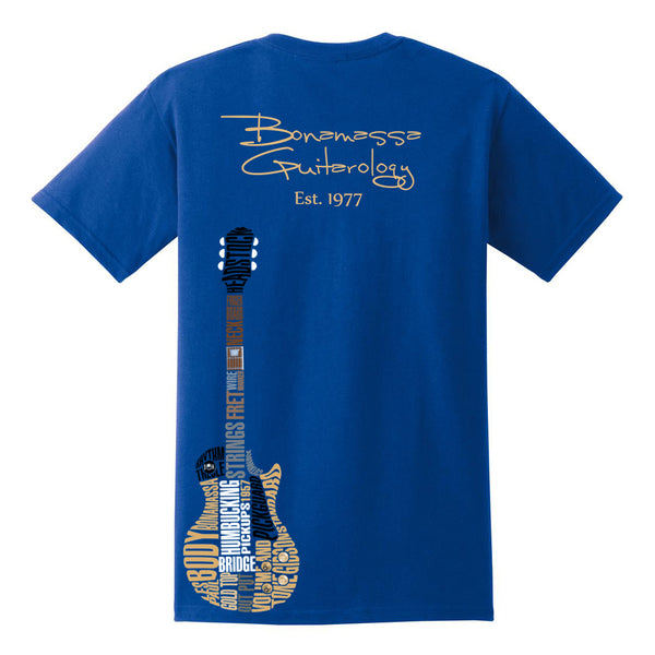 Guitarology Pocket T-Shirt (Unisex) - Royal