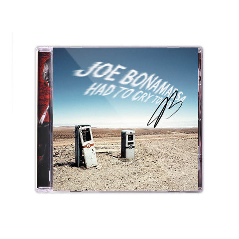 Joe Bonamassa: Had To Cry Today (Studio CD) (Released: 2004) - Hand-Signed