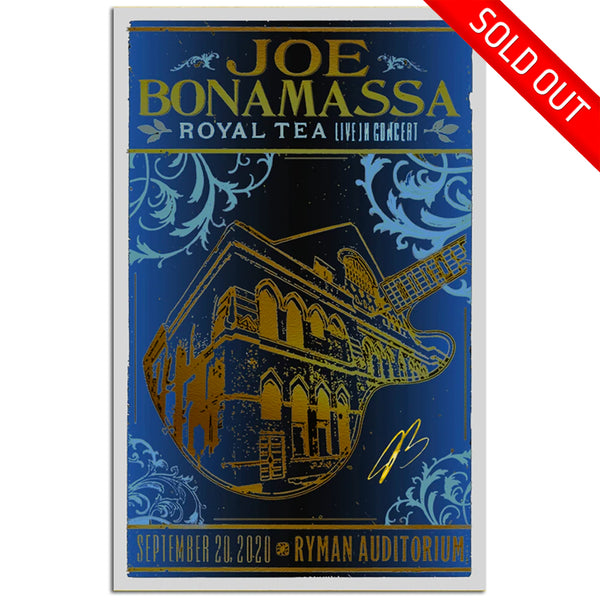 Royal Tea: Live in Concert at the Ryman Auditorium (2020) Hatch Print - Hand-Signed