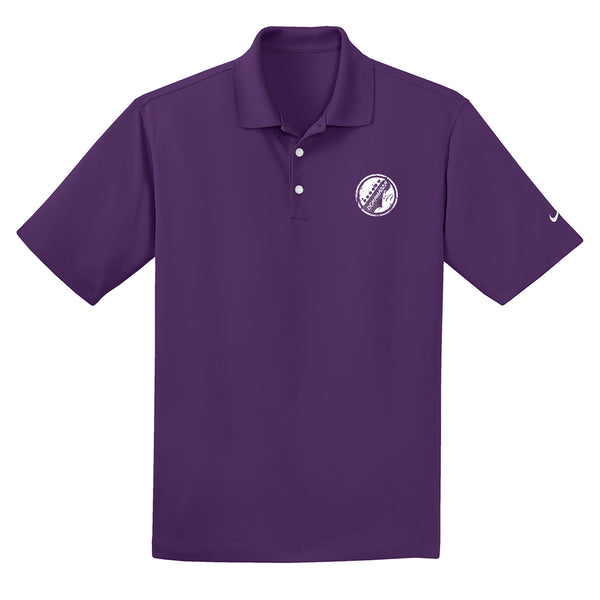 Vintage Headstock Nike Dri-FIT Micro Pique Polo (Men) - Night Purple