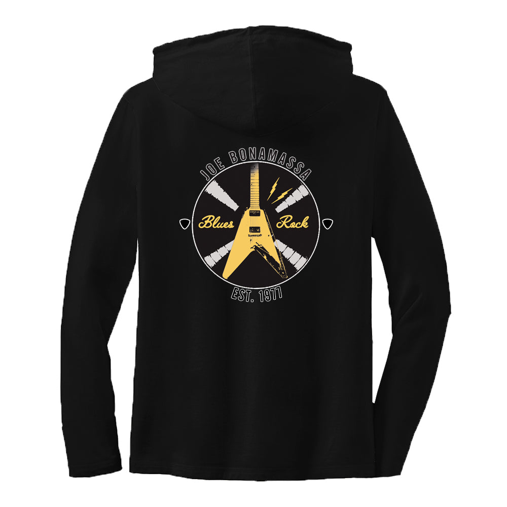 Electric Flying V Hooded Long Sleeve (Women)