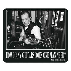 How Many Guitars Does One Man Need Mouse Pad