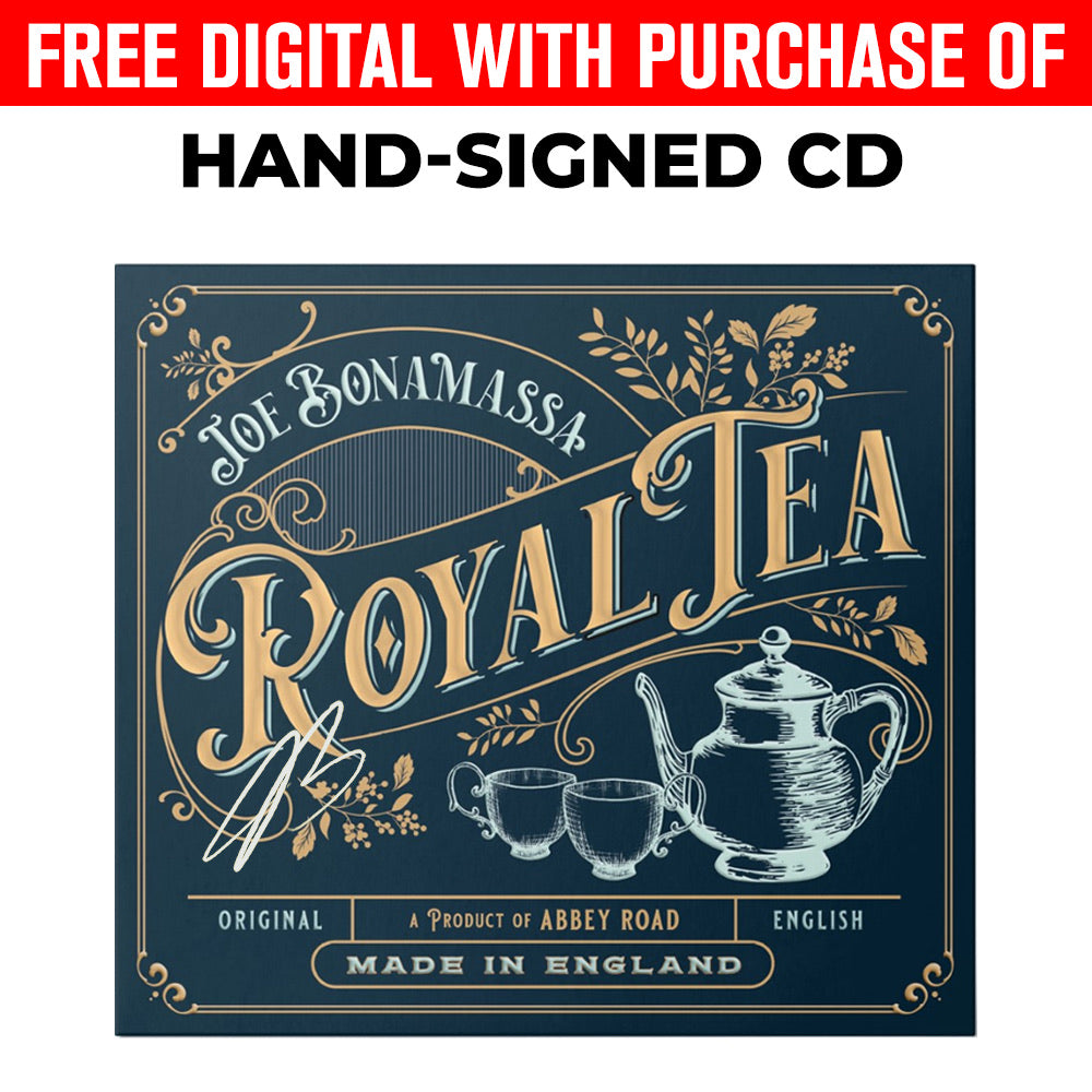 Joe Bonamassa: Royal Tea (CD) (Released: 2020) - Hand-Signed